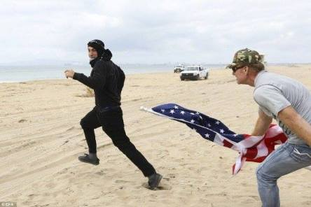 antifa-getting-chased-on-beach