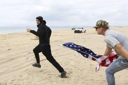 antifa-getting-chased-on-beach
